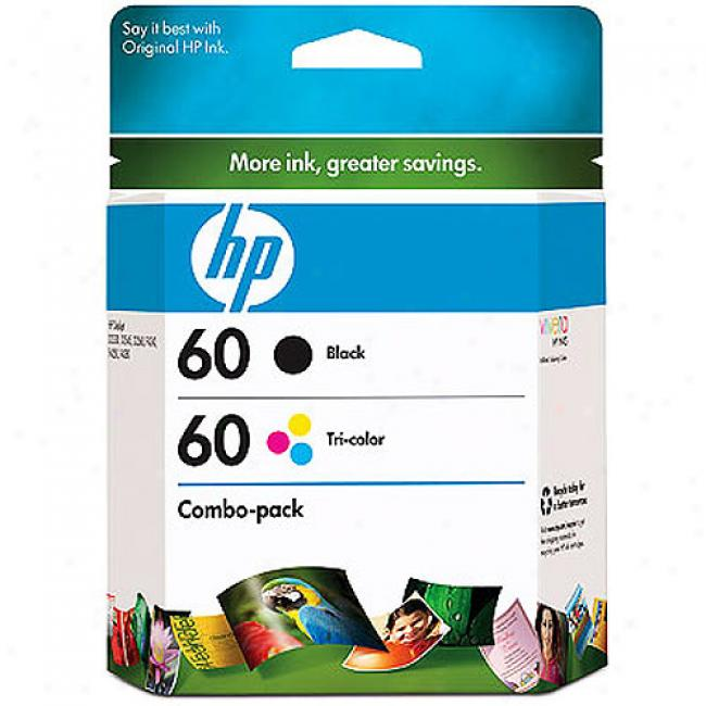 Hp 60 Retail Combo Pack Us