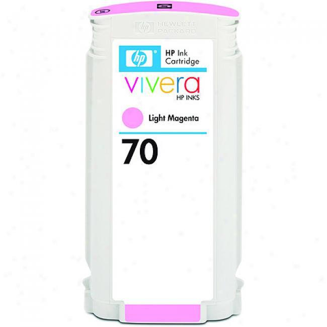 Hp 70 Light Magenta 130-ml Ink Cartridge