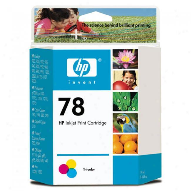 Hp 78 Color Printer Cartridge