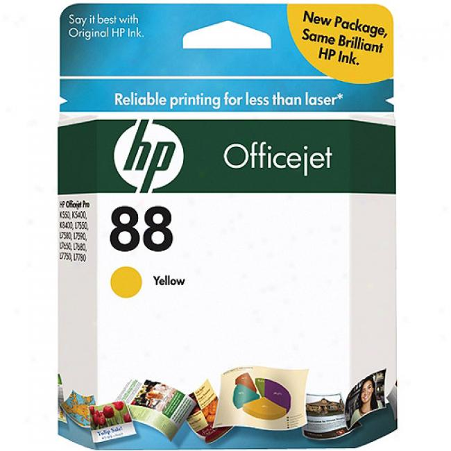 Hp 88 Yellow Ink Cartridgee- Sensormatic