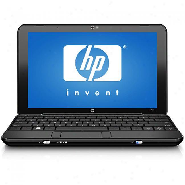 Hp 8.9'' Mini 1010nr Laptop Pc W/ Intel Atom Processor N270
