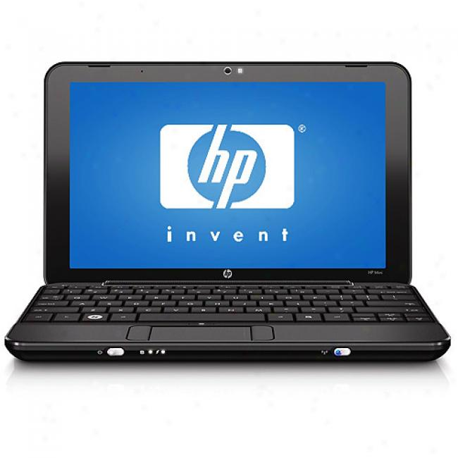 Hp 8.9'' Mini 1110nr Laptop Pc W/ Intel Atom Processor N270