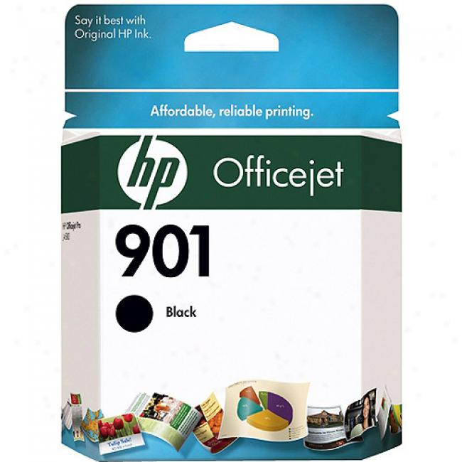 Hp 901 Black Officejet Us Ink Cartridge