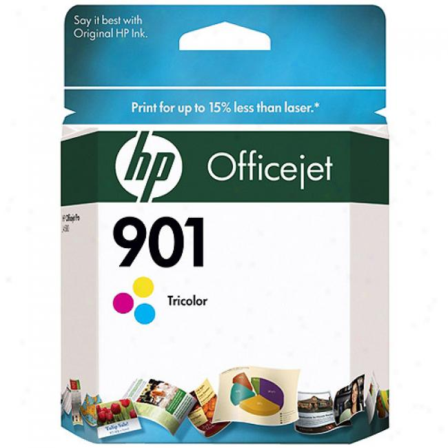 Hp 901 Tri-color Officejet Us Ink Cartridge