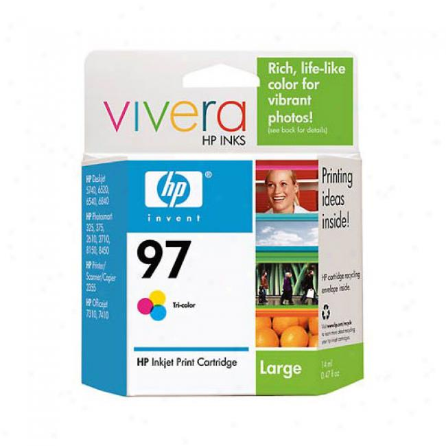 Hp 97 Tri-color Inkjet Cartridge