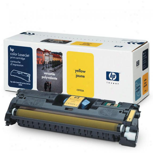 Hp Color Laserjet 1500/2500 Smart Print Cartridge, Yellow