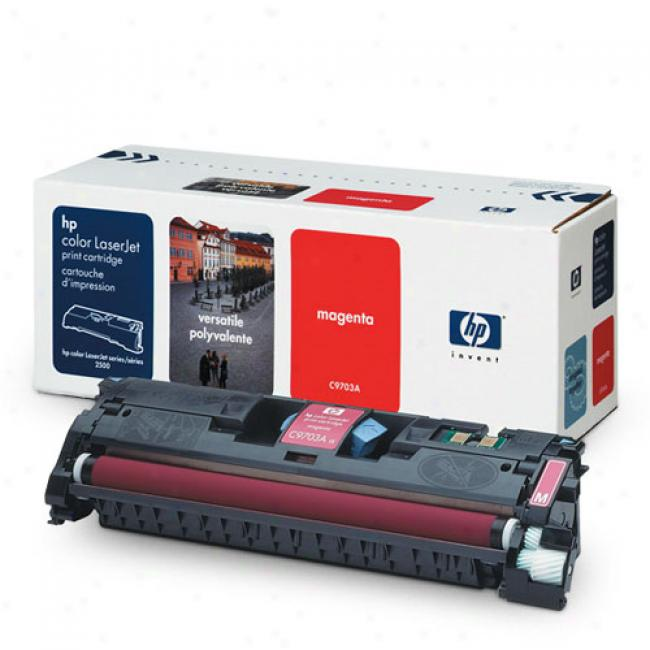 Hp Color Laserjet 1500/2500 Smart Print Cartridge, Magenta