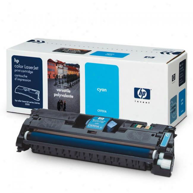 Hp Color Laserjet 1500/2500 Smarg Print Cartridge, Cyan