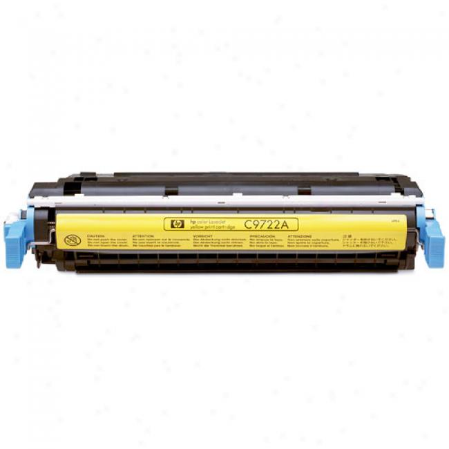 Hp Color Laserjet 4600 Smart Print Cartridge, Yellow