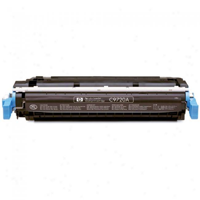 Hp Color Laserjet 4600 Smart Print Cartridge, Black