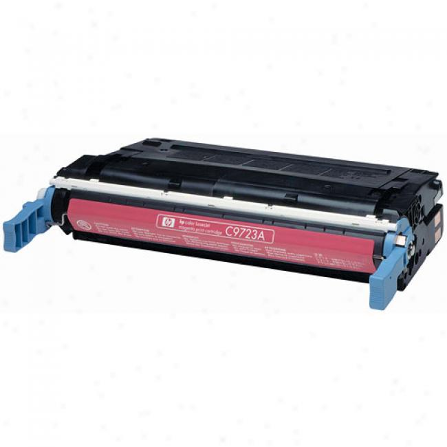Hp Color Laserjet 4600 Smart Print Cartridge, Magenta