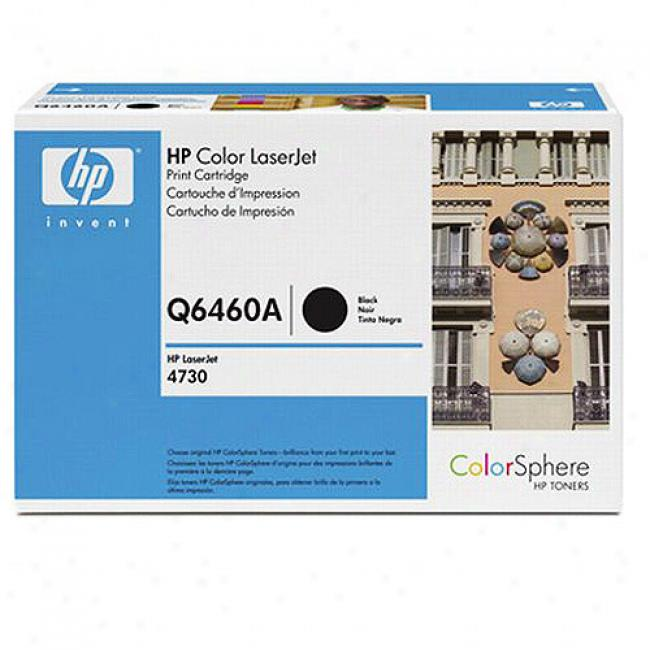 Hp Color Laserjet 4730 MfpB lack Ink Cartridge