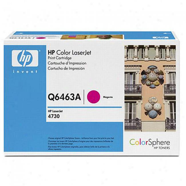 Hp Color Laserjet 4730 Mfp Magenta Toner Cartridge