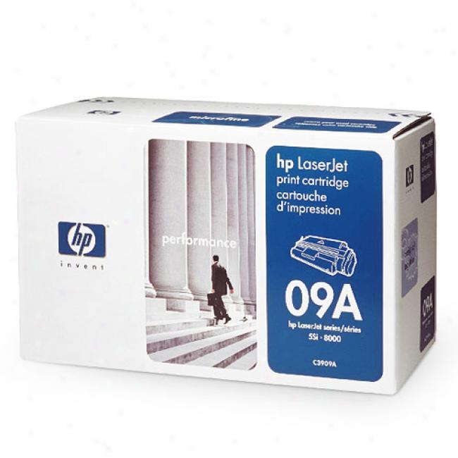 Hp Laserjet C3909a Microfins Print Cartrdge, Black