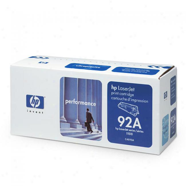 Hp Laserjet C4092a Ultraprecise Print Cartridge, Mourning