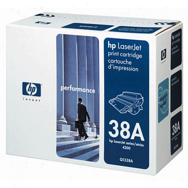Hp Laserjet Q1338a Smart Print Cartridge, Black
