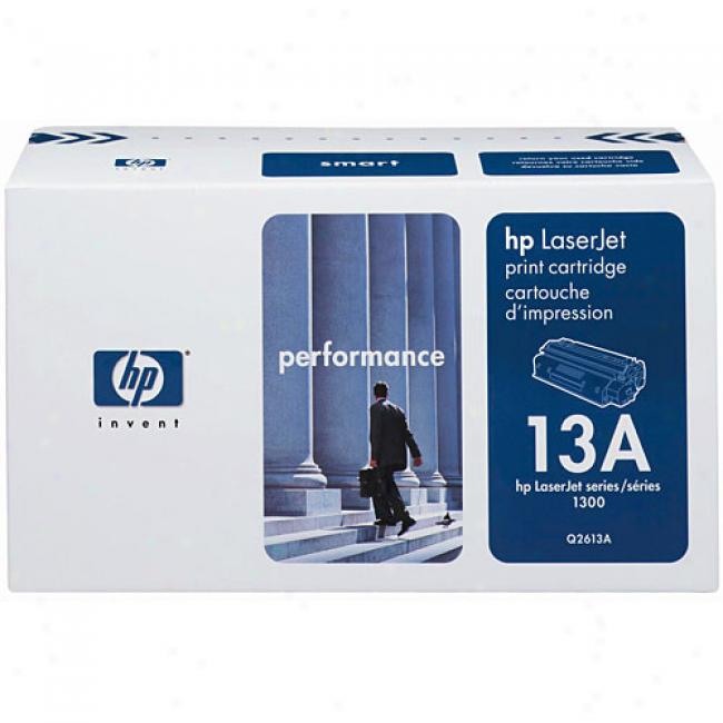 Hp Laxerjet Q2613a Smart Print Cartridge, Black