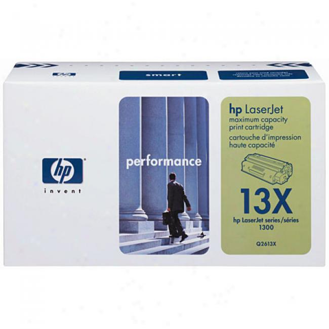 Hp Laserjet Q2613x Smart Print Cartridge, Black