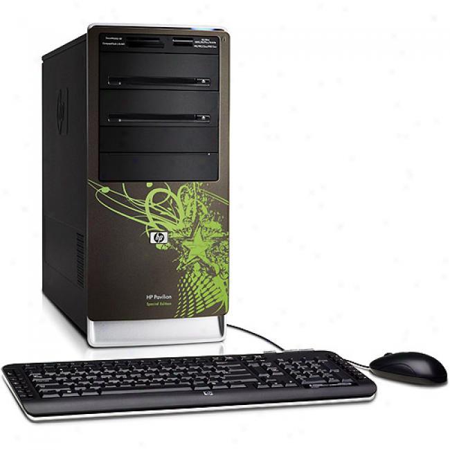 Hp Pavilion A6745f Desk5op Pc With Amd Athlon XZ 5050e Dual-core Processor, 320gb Hard Drive, Windows Vista Home Premium 64-bit Edition