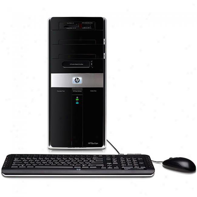 Hp Pavilion Elite M9510f Desktop Pc W/ Intel Core 2 Quad Processor Q8200