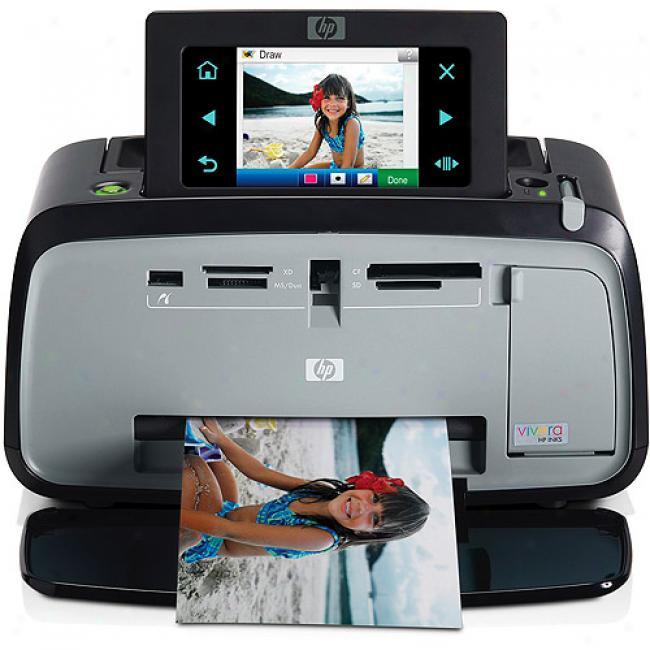Hp Photosmart A636 Agreement 4x6 Photo Printer