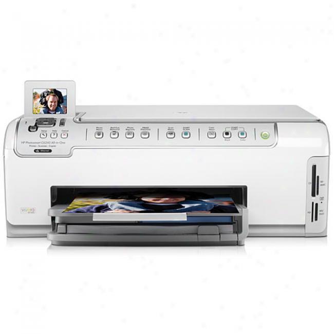 Hp Photosmart C6240 All-in-one Printer/copier/scanner, Hpps C6240