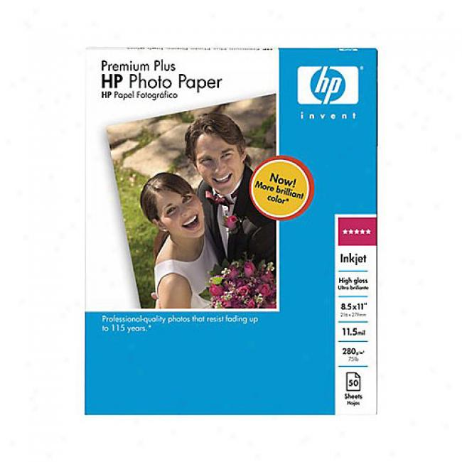 Hp Q1785a Premium Plus Photo Paper (8.5