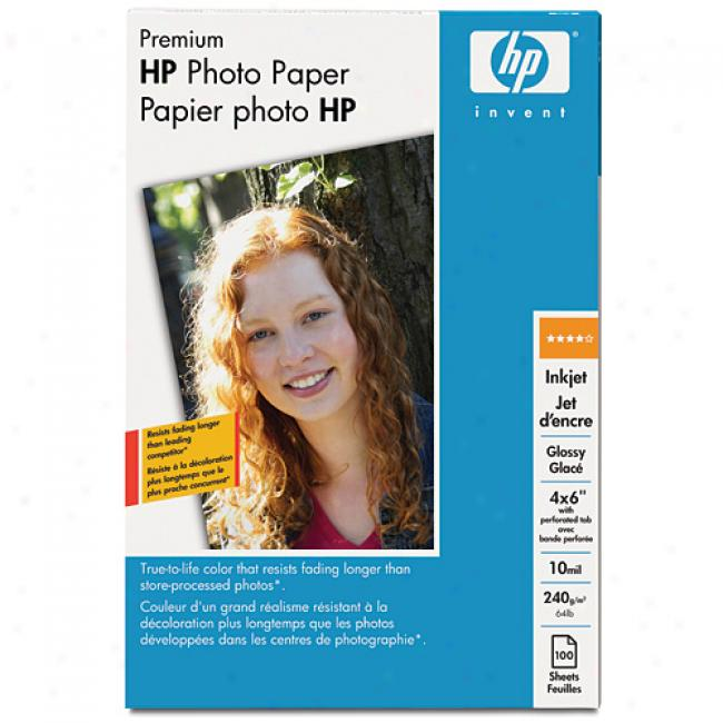 Hp Q1989a Premium Photo Notes, Glossy (60 Sheets, 4 X 6