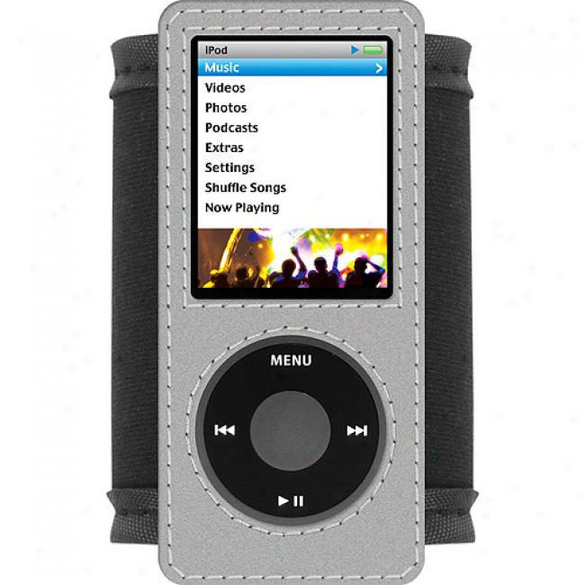 I-tec Exhibit Tie With Reflective Comfortable Design Case For Ipod Nano 4g
