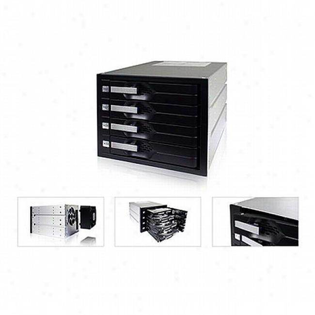 Icy Dock Tray-less 4-in-3 Sata I/ki Hard Drove Enclosure