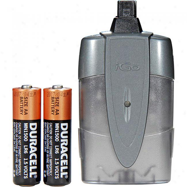 Igo Powerxtender Aa Battery-powered Universal Charger