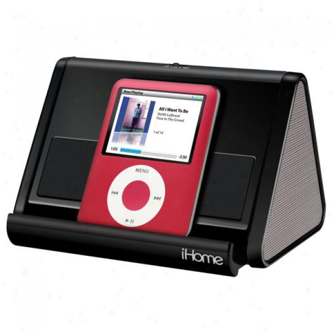 Ihome Portable Chairman System For Ipod/mp3, Ihm3p4