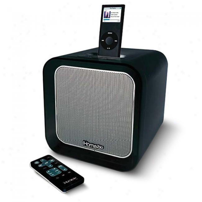 Ihome Speaker System For Ipod, Black