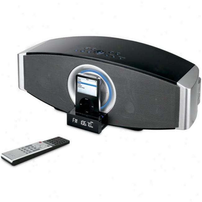 Ilive Studio 2.1-channel Speaker System For Ipod, Iht3807dt