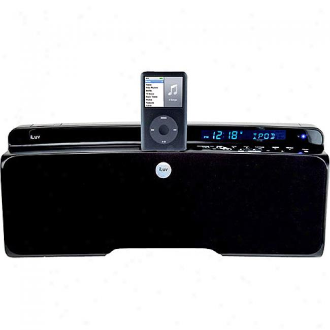 Iluv Bluepin 2.1 Stereo With Ipod Dock