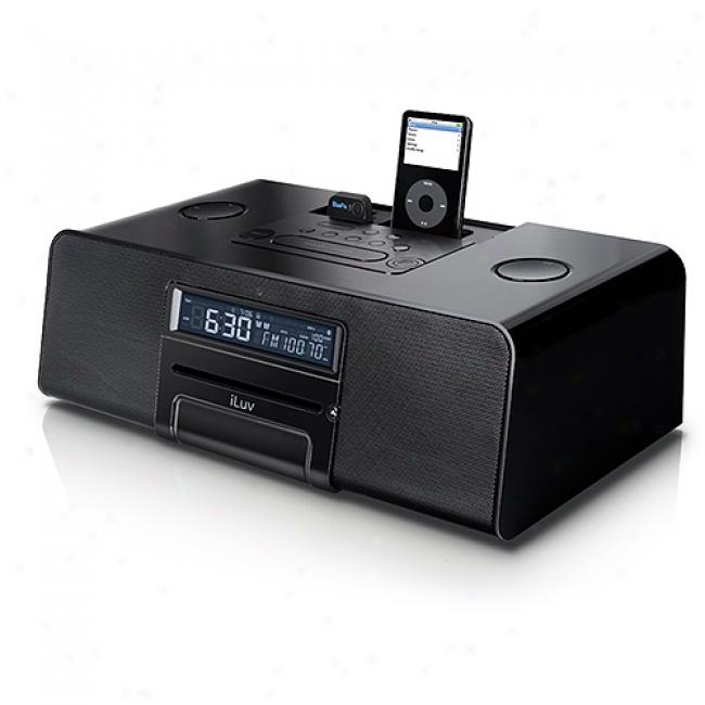 Iluv Bluetooth Clock Radio For Ipod