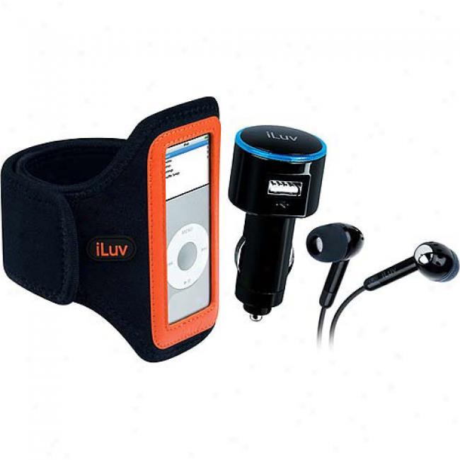 Iluv Fitness Kit For Ipod Nano 1g, 2g