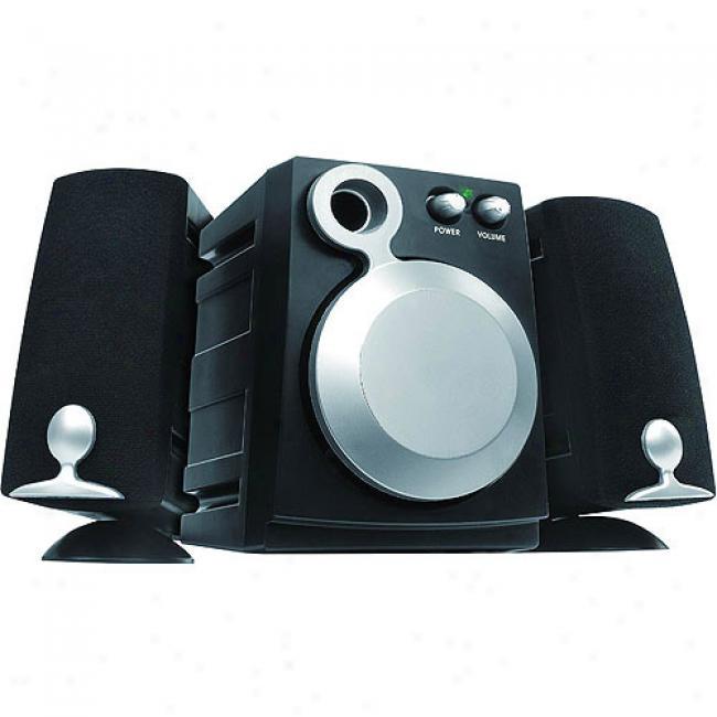 Inland Pro Sound 2.1 3-piece Computer Speaker System