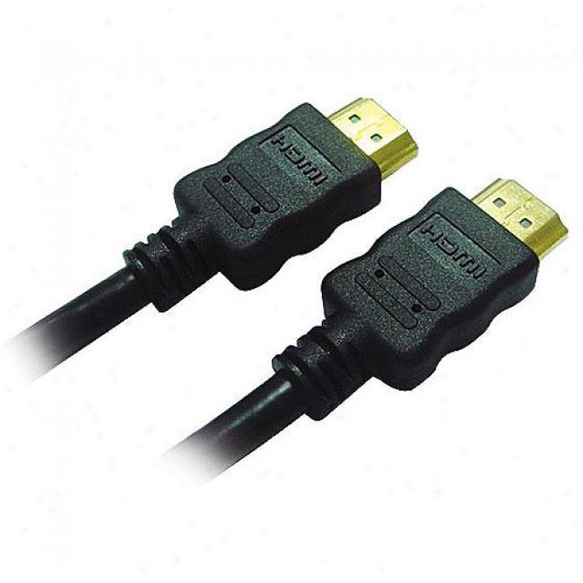 Inland U-jam Hdmi Gold Cable