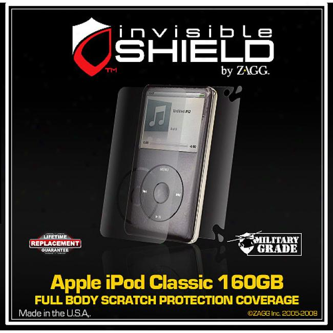 Invisibeshield For The Apple Ipod Classic 160