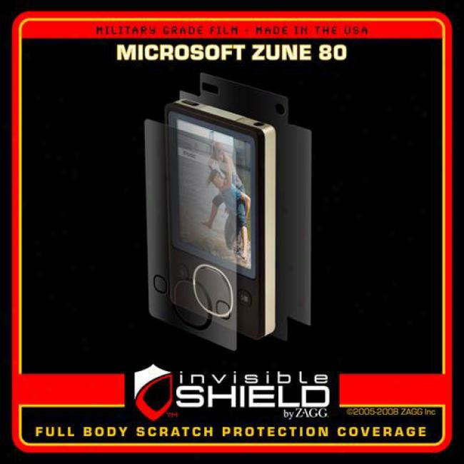 Invisibleshield For The Microsoft Zune 80