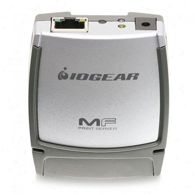 Iogear Gmfsu21w6 Usb Multi-function Print Server