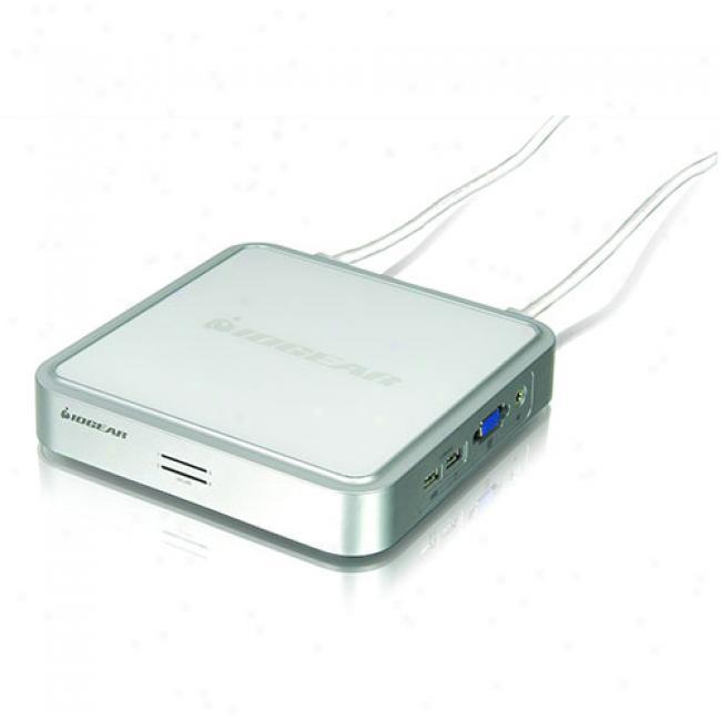 Iogear Miniview 4-port Usb Kvm Switch