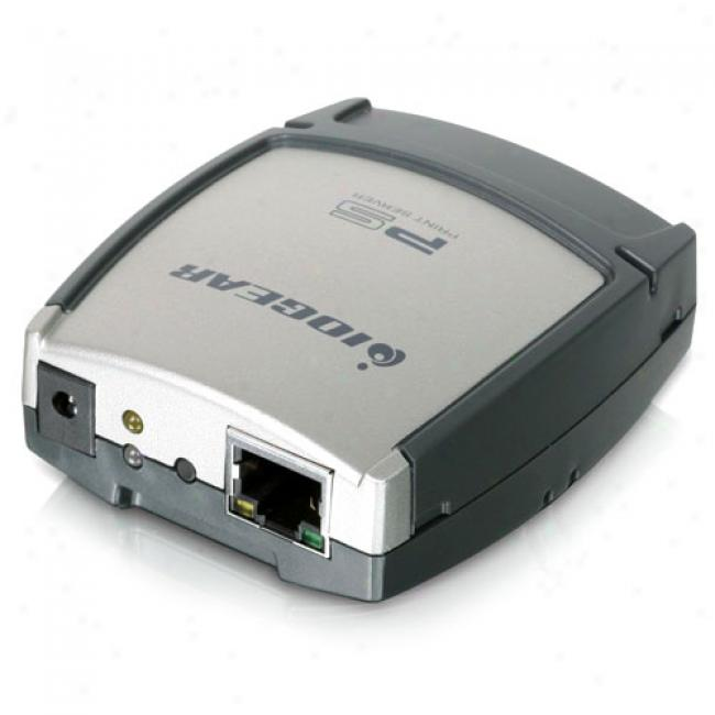 Iogear Usb 2.0 Print Server, 1 Port
