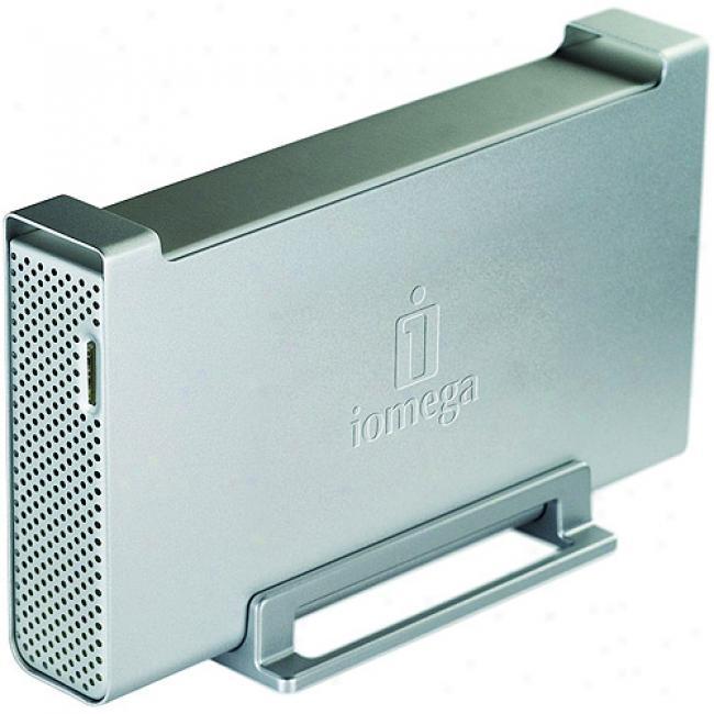 Iomega 1tb Ultramax External Hard Drive, Firewire 400/usb 2.0