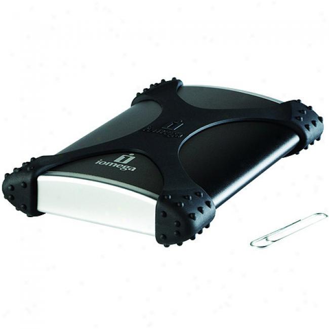 Iomega 250gb Ego Blackbelt Portable Usb Hard Drive