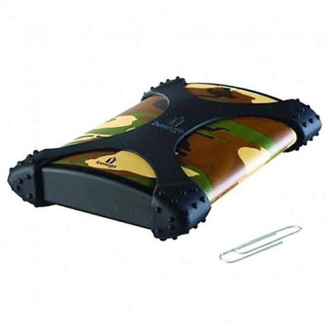 Iomega 250gb Ego Portable Hard Drive, Usb 2.0, Camo