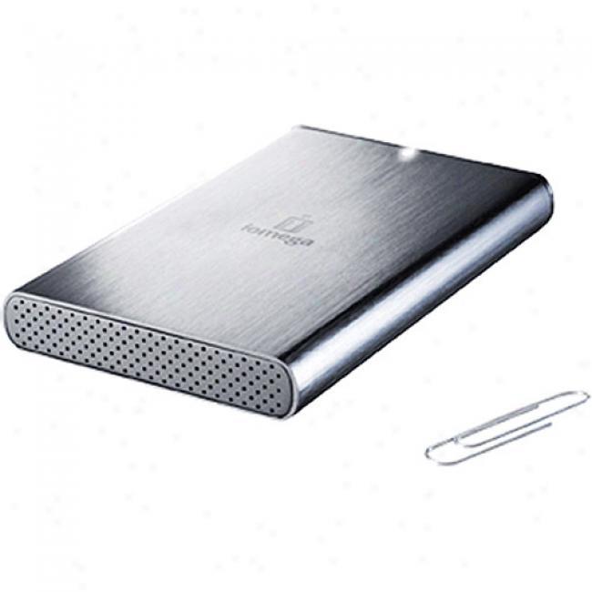 Iomega 320gb Prestige Portable Hard Drive Usb 2.0