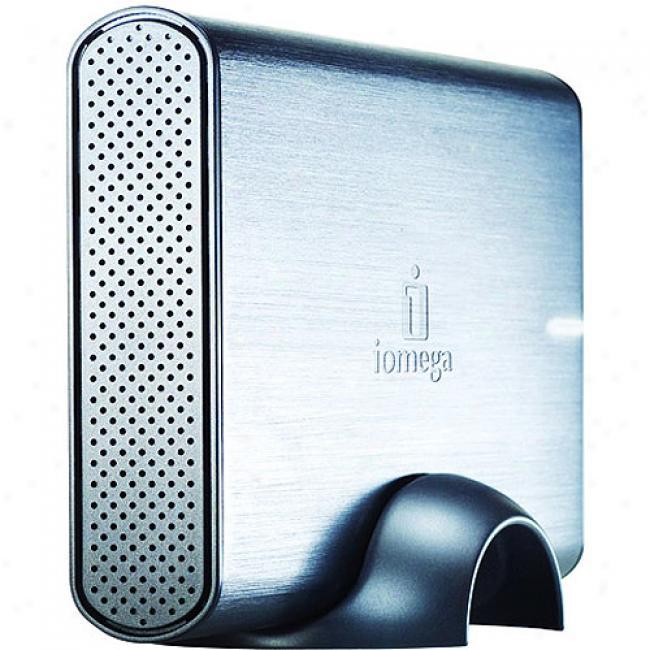 Iomeya 500gb Prestige External Hard Drive, Usb 2.0
