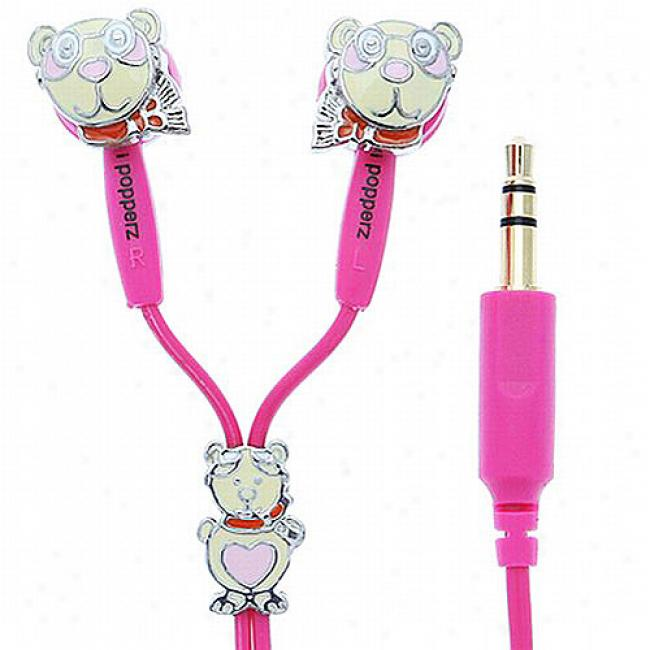 Ipopperz Air Bear Earbud Headphones